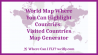 World Map Where You Can Highlight Countries: Visited Countries Map Generator